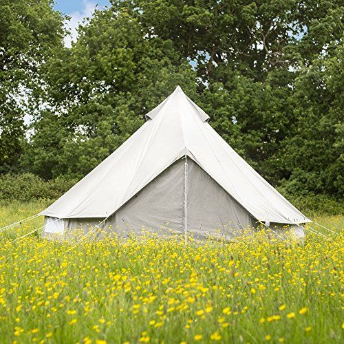 Boutique Camping The Oxford Canvas Bell Tent 4m
