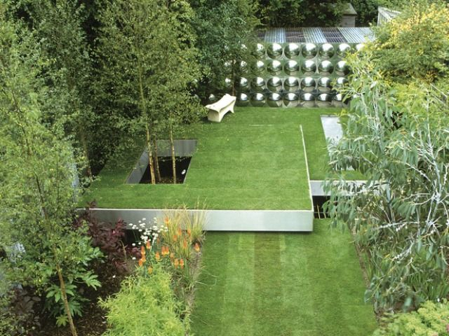 260 best images about contemporary gardens on pinterest for Modern landscaping ideas