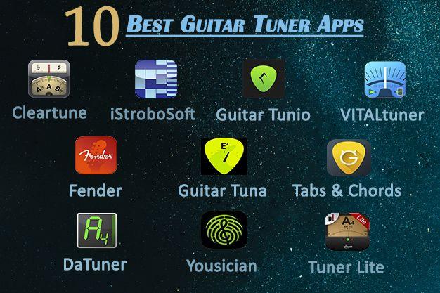 10 Best Guitar Tuner Apps Guitar Tuners Guitar Tuner App Guitar