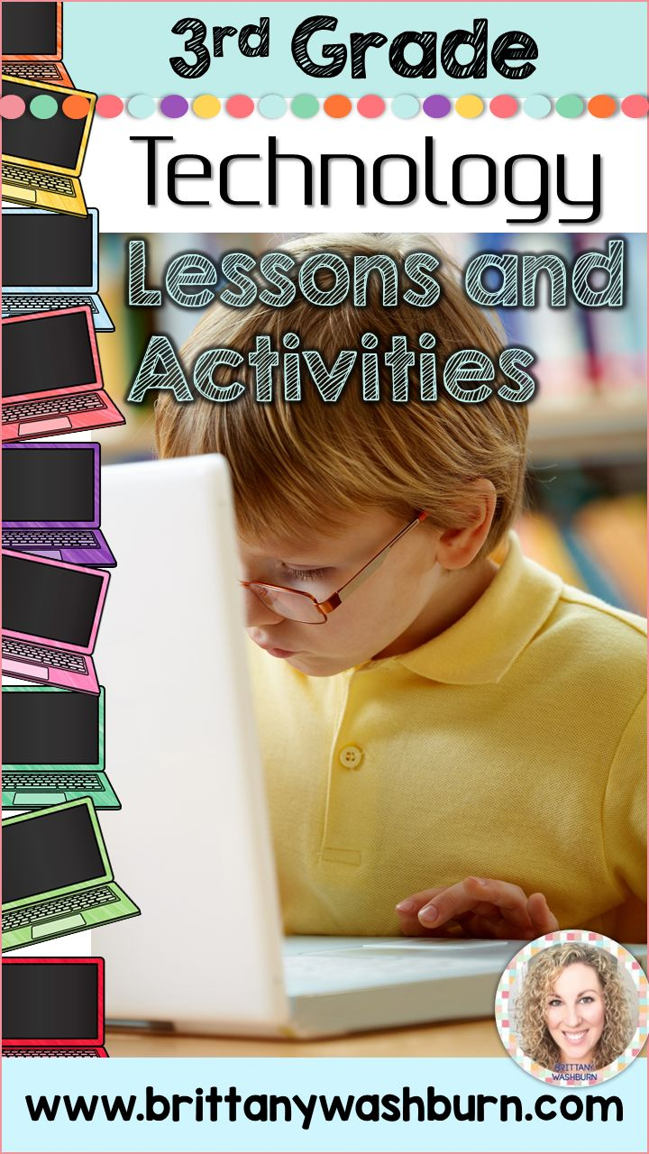 3rd grade technology lesson plans and activities for the entire school year. These lesson plans and activities will save you so much time coming up with what to do during your computer lab time. Ideal for a technology teacher or a 3rd grade teacher with mandatory lab time. All of the work is done for you!