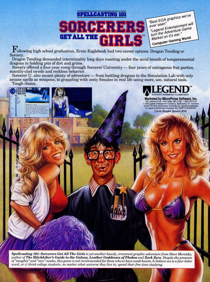 Spellcasting 101: Sorcerers Get All the Girls (1991)