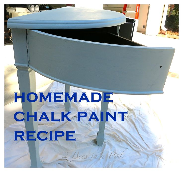 1000 ideas about homemade chalk paint on pinterest for Is chalk paint durable for kitchen table
