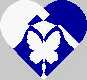 Danish woven heart butterfly by Eric Gimmerskov