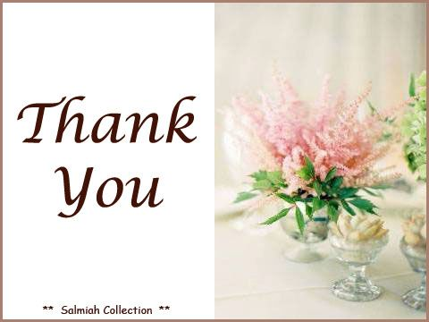 Flowers of Life: Thank You Card 18