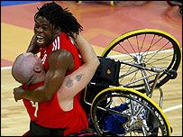 British paralympic basketball players