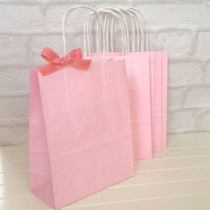 84 best hen do images on pinterest hens hen party badges and a set of pretty pink paper bags with twisted off white handlesthese paper bags are ideal for wedding favours kids parties small gifts easter hunts and negle Gallery