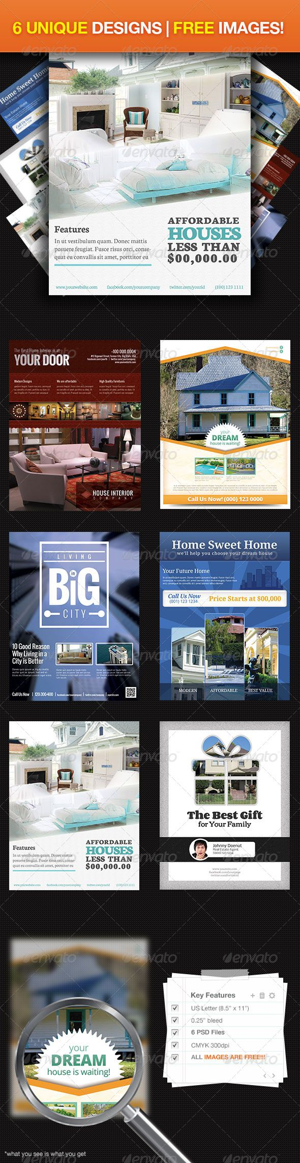 images about real estate psd template real estate ultimate flyer design 1