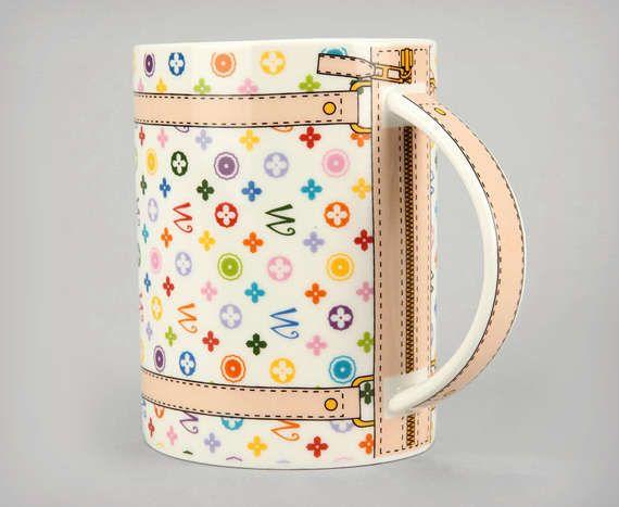 Monogram Bag Mug