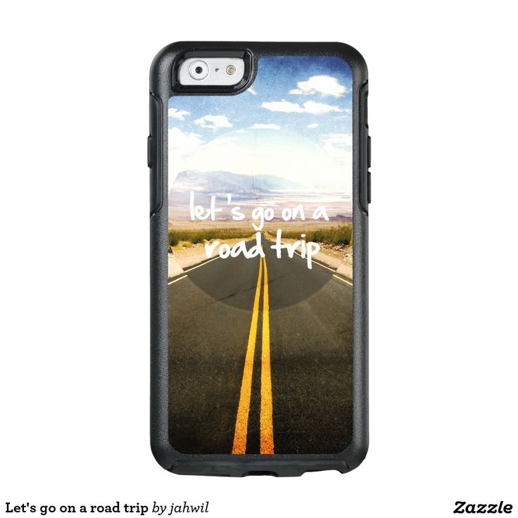 Let's go on a road trip OtterBox iPhone 6/6s case #roadtrip #dream