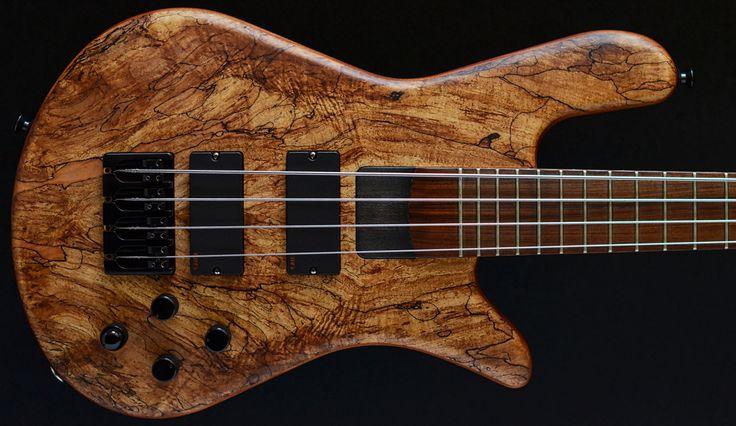 Spector NS4 Shorty, Flame Maple top, graphiteburst four string bass Second Hand and Ex-demo Bass Guitar Stock :: custom warwick bass:: For sale, UK, EU, Warwick