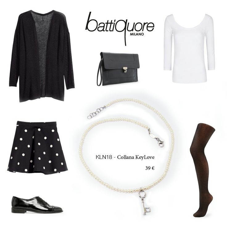 Battiquore Milano | Outfit Idea with KeyLove's Necklace