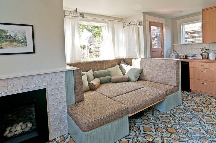 Угловой диван на кухню со спальным местом: как сделать кухонное пространство максимально комфортным и 75+ фотоидей http://happymodern.ru/uglovoj-divan-na-kuxnyu-so-spalnym-mestom/ uglovoj_divan_18
