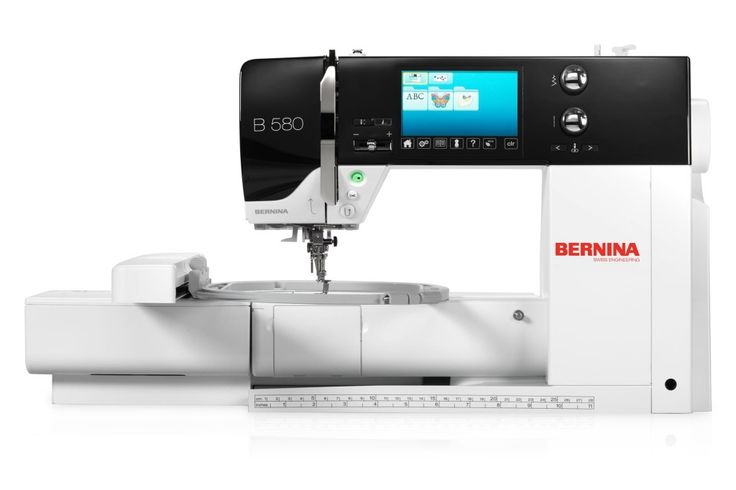 My new Bernina 580, meet Viva!!