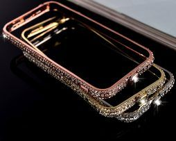 Bumper s kryštálmi na iPhone 8 , iPhone 8 Plus