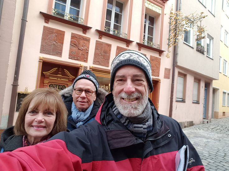 Nuremberg Tours in English with #HappyTourCustomers at Weißgerbergaße