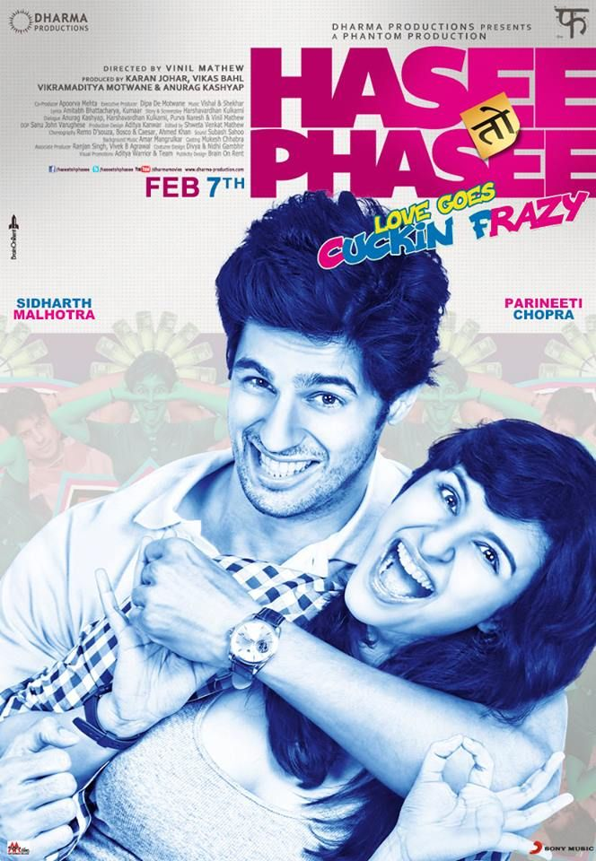 Here's presenting the first look's of Hasee Toh Phasee!  Get ready because love is going Cucking Frazy! More looks @ http://wp.me/p24k0U-6gF