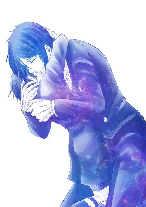 Galactic hug... Awwww once again I find myself jealous of ceil... y he get Sebastian?!