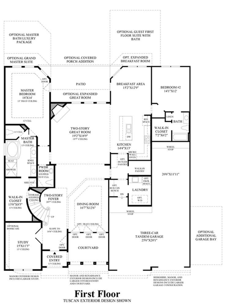 Wilshire homes buchanan floor plan for Wilshire homes floor plans