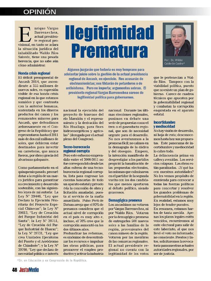 #ClippedOnIssuu from Revista Justo Medio Edicion Nº 81