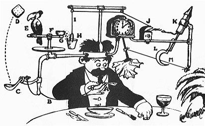 Illustration de Rube Goldberg