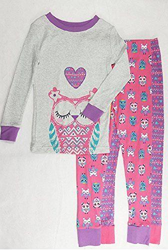 K.S.G Kirkland Signature Girls  3 Piece Organic Pajama Set 4fdfca543