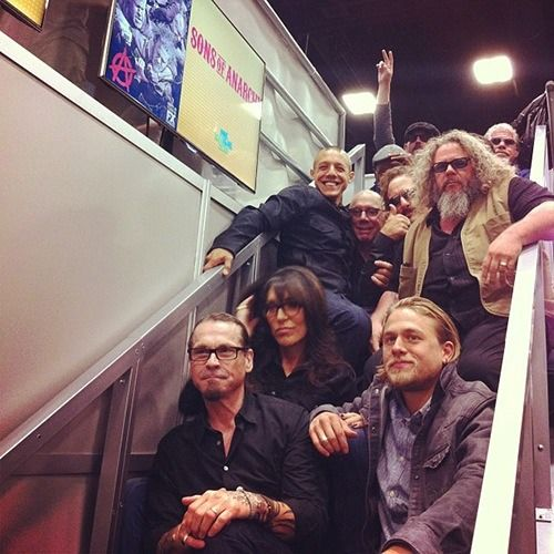 Family at the Comic Con 2013 :3