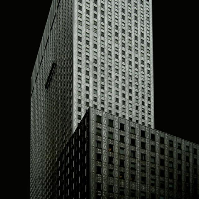Manhattan structures