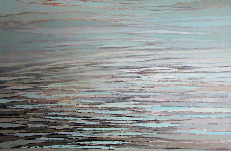 Obrazy abstrakcyjne, pejzaże na dużym formacie - Sylwia Michalska