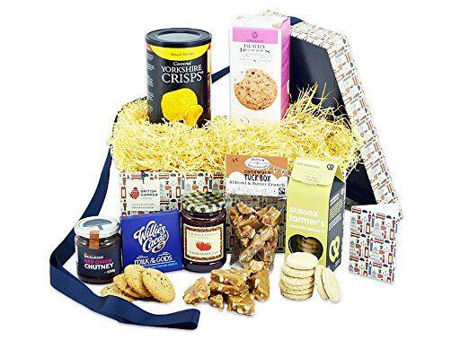 Luxury Gluten Free Hamper - Free Express UK Delivery - British Artisan Gluten Free Food Gift Basket