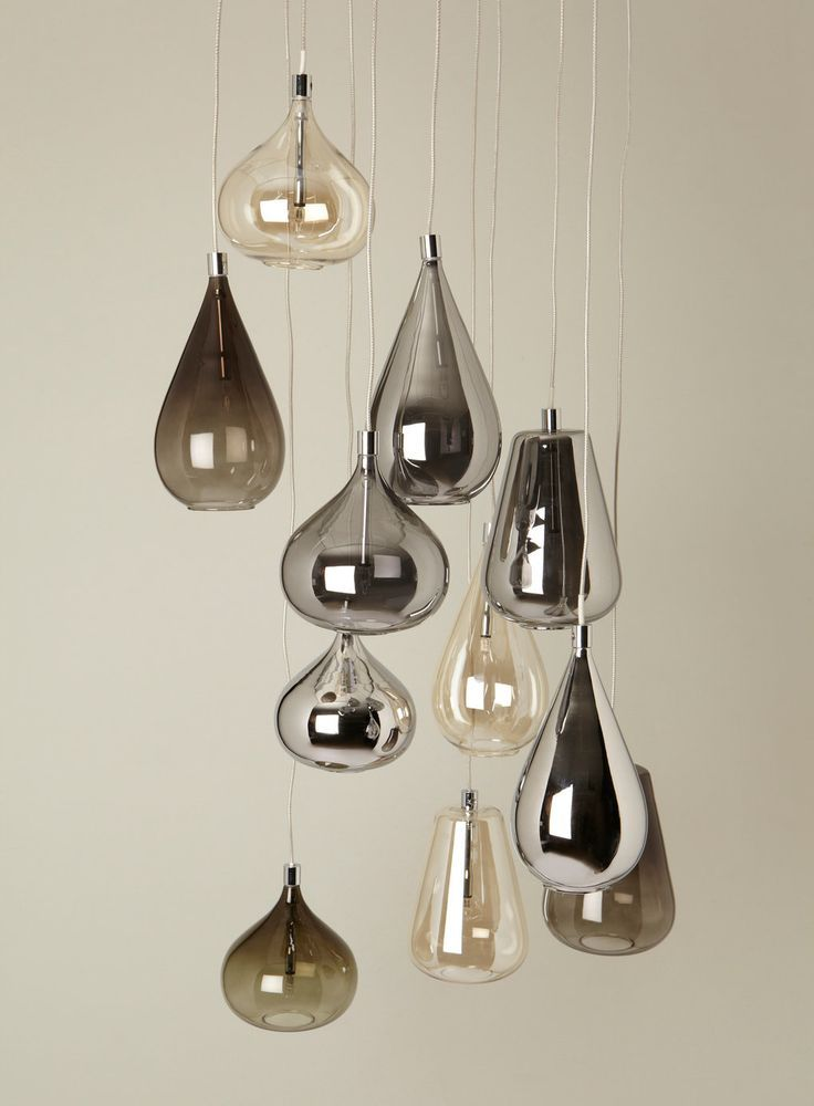 Ceiling Lights: Smoke Nadine Cluster pendant from BHS