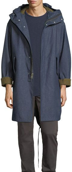 Rag & Bone Bolton Denim Military Parka