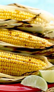 Lime and Chili Grilled Corn - Keep the Southwestern flavors of your BBQ going with this lively recipe for grilled corn.