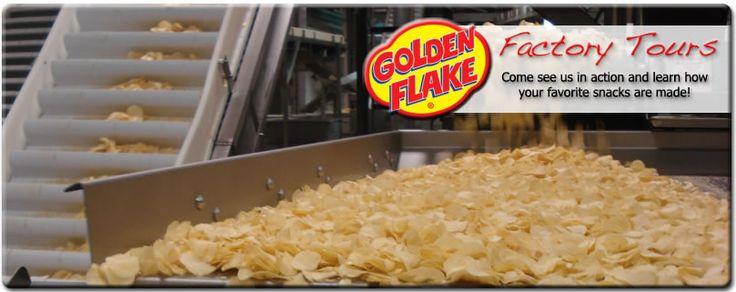 Golden Flake Factory Tour