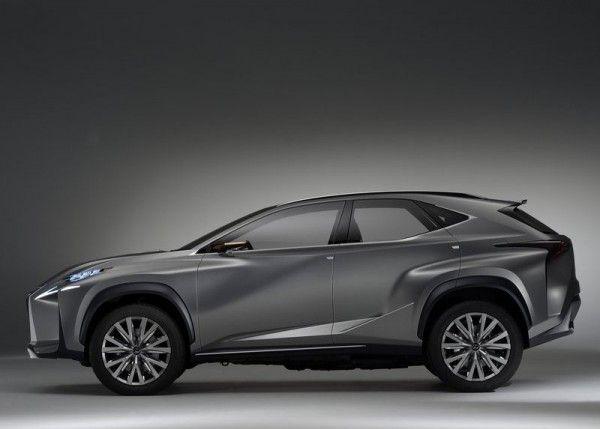 Lexus LF NX Images 600x429 2013 Lexus LF NX Concept Reviews