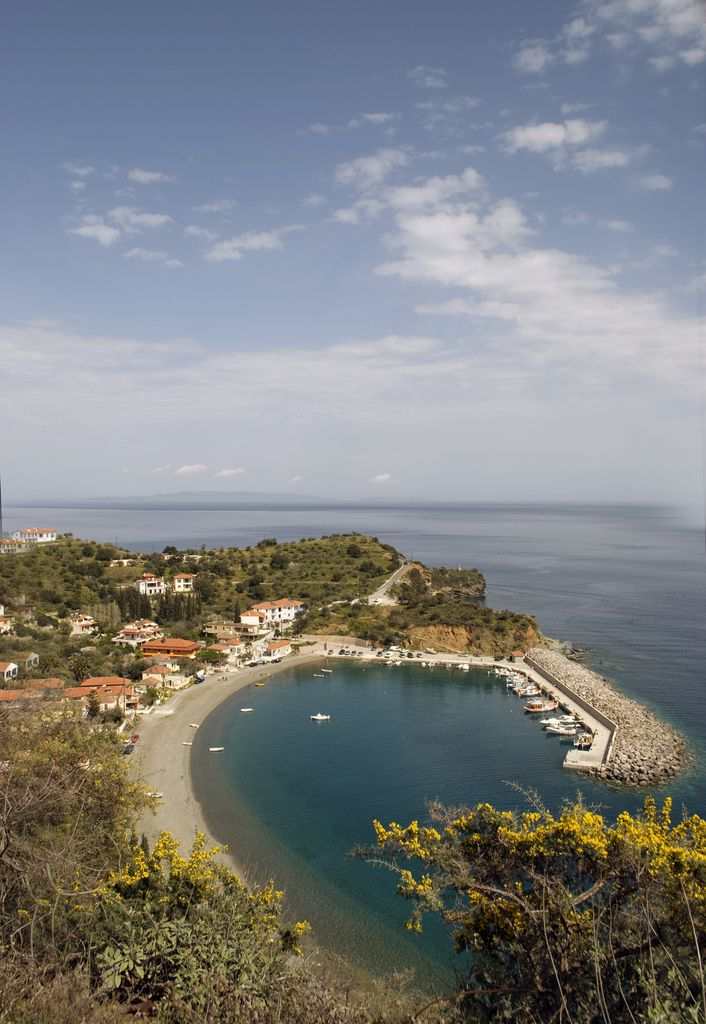 Leonidio is a town n a former municipality in Arcadia, Peloponnese_ Greece