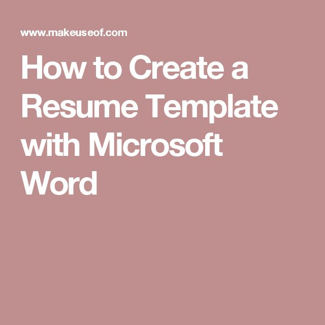 Best 25+ Create a resume ideas on Pinterest Create a cv - create a resume online for free and download