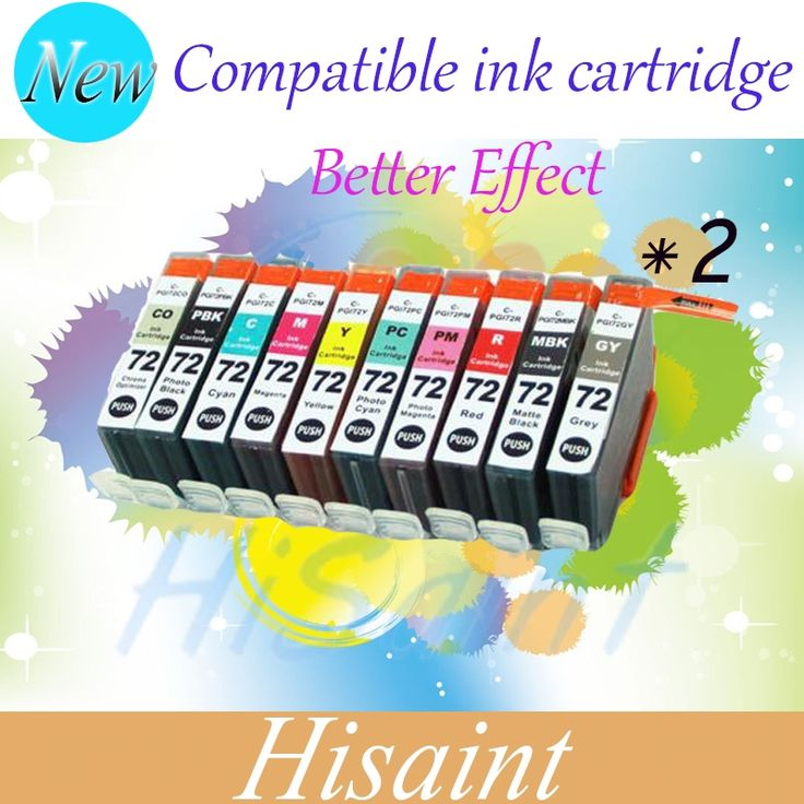 69.08$  Watch more here - http://aibmm.worlditems.win/all/product.php?id=32785586531 - 2 Set (20 pks) Compatible colored ink Cartridge PGI-72 PGI72 PGI 72 For Canon Pixma Pro-10 inkjet printer ink in low price