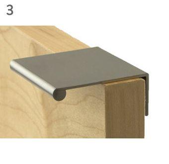 invisible kitchen handles - Renovation - Muse  Maker
