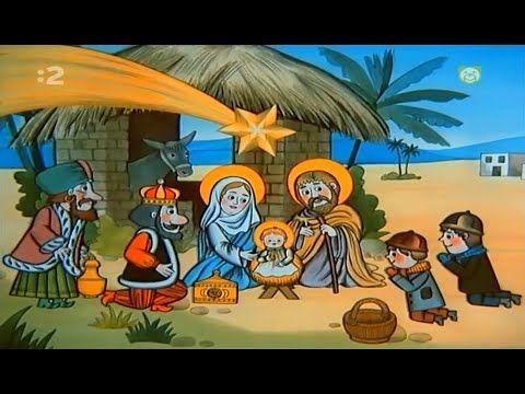 Vianočné rozprávanie - Štedrý večer nastal - YouTube