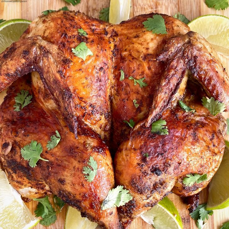 Air Fryer Cilantro Lime Chicken (LowCarb, Paleo, Whole30