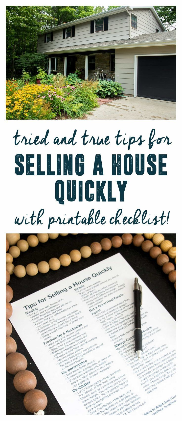 How to Sell Your House Quickly Home selling tips, Home