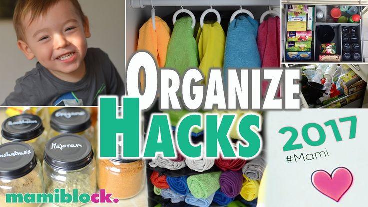 Organisiere deinen Mami - Alltag | Organize MOM HACKS | mamiblock