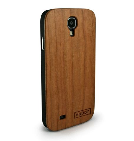 Samsung S4 Houdt Cherry Wood Case  #SamsungS4  #SamsungCovers #SamsungWoodenPhoneCovers
