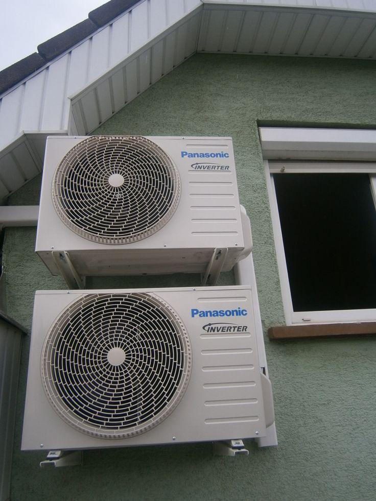 2 db Panasonic klíma kültéri egységének felszerelése Budapesten. Klímaszerelés, minőségi klímák forgalmazása Budapesten és környékén megfizethető árakon. Gyors, precíz klímaszerelés 5 év garanciával, 12 év tapasztalattal, klímajavítási gyakorlattal is! http://www.klima-budapest.eu