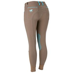 Piper Breech with Silicone Grip Knee Patch by SmartPak