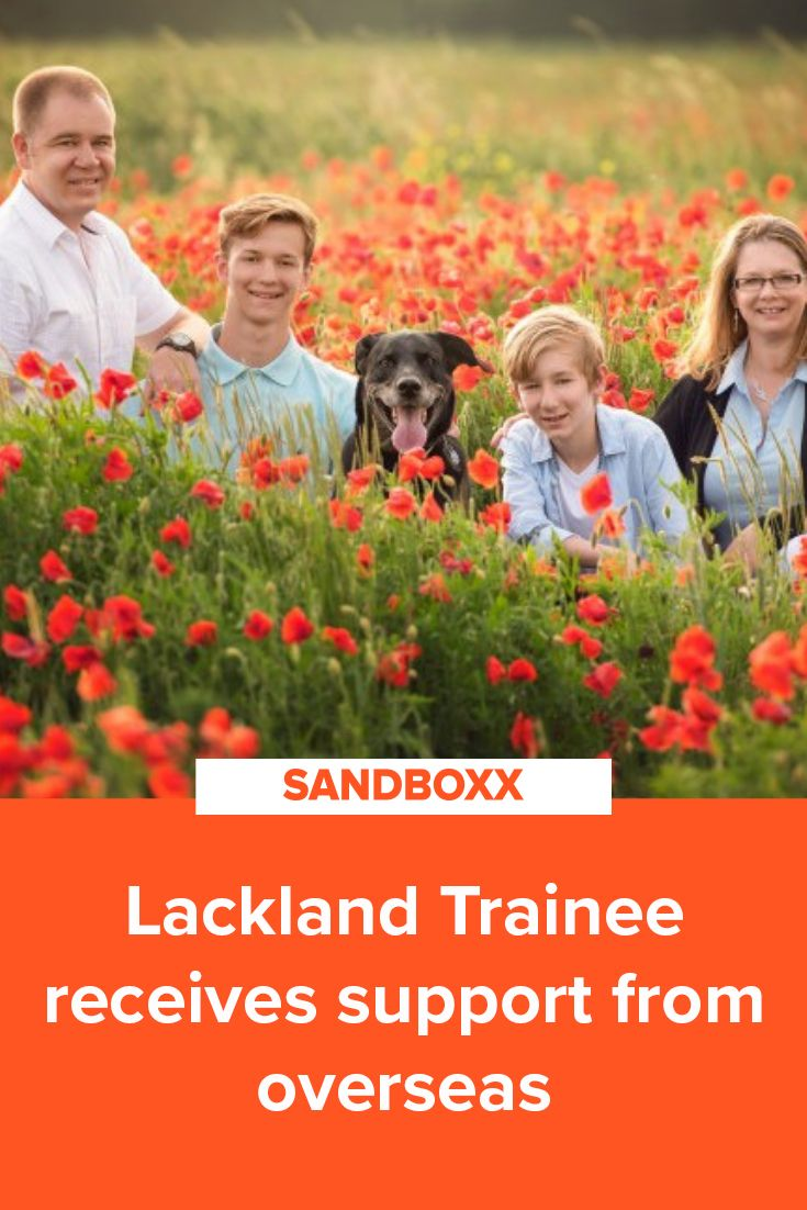 Sandboxx Stories: Lackland Trainee Receives Support From
