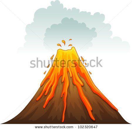 island volcano cartoon - Google Search