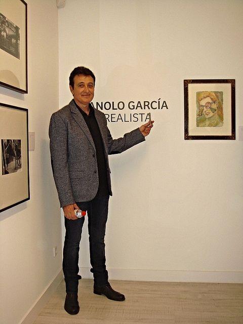 Inauguración Exposición Sub-realista de Manolo García en La Taché Gallery de BCN... ( 07/11/2013)