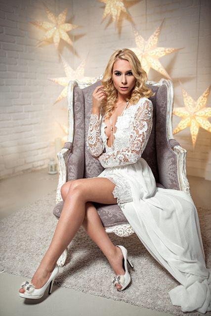 Lace Wedding Dress!   #wedding #dress #white #lace #kefashion