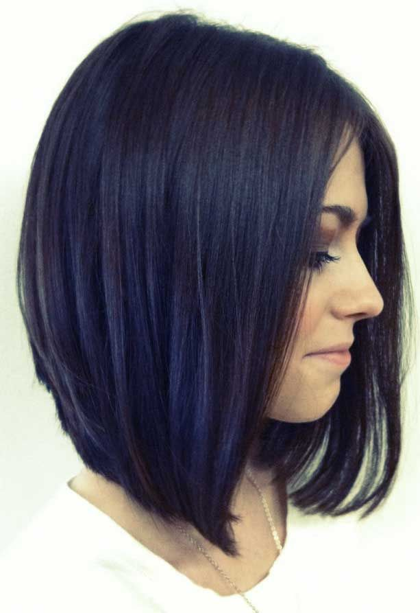 Angled Bob Hairstyles 12 lob hairstyles that will look great in any season long bob 15 Angled Bob Hairstyles Pictures Bob Hairstyles 2015 Short Hairstyles For Women